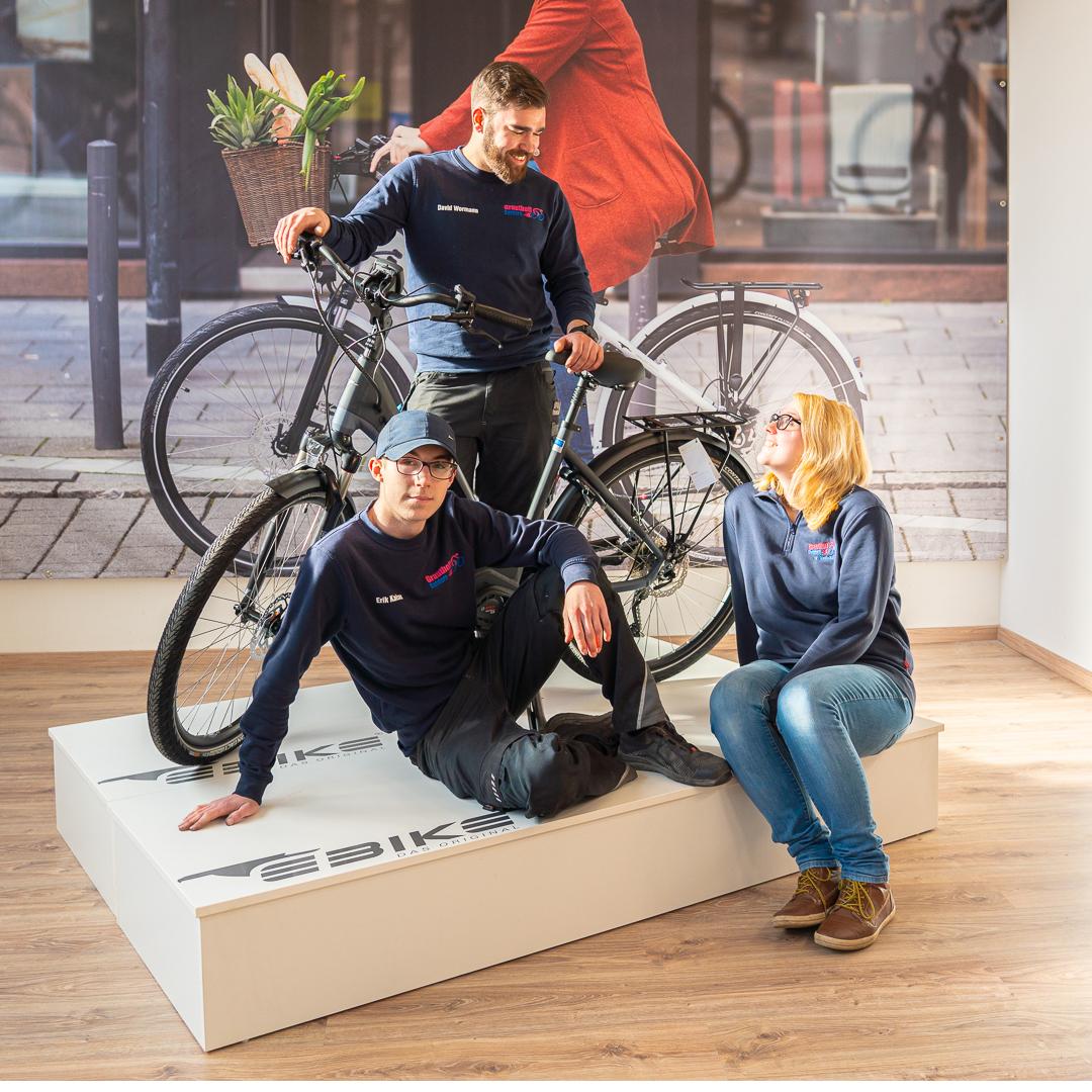 Fahrradzentrum Grauthoff Fotoshooting - Team 2